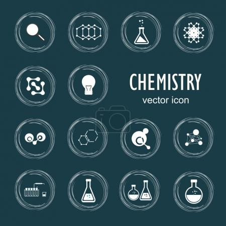 Icons in chemistry, biology, medicine